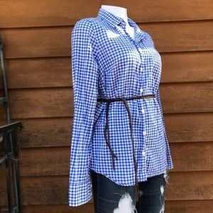 J Crew | The Perfect Shirt | Checkered Button Up